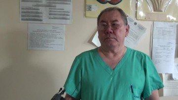 Жандарбек Байжигитов, заведующий нейрохирургическим отделением БСМП.