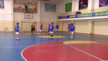 В Шымкенте завершился первый этап чемпионата Казахстана по гандболу
