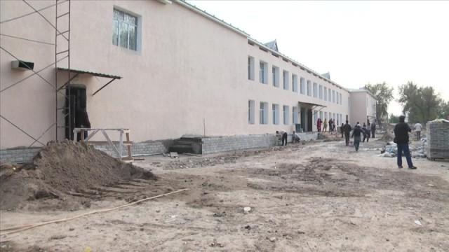 Ремонт в школе № 34 закончится только в следующем году