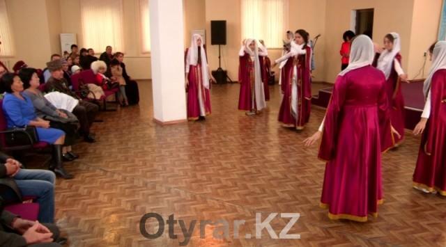 Чеченский девичий танец