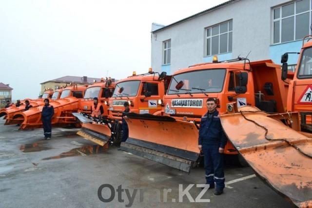 Проверка готовности дорожных служб ЮКО