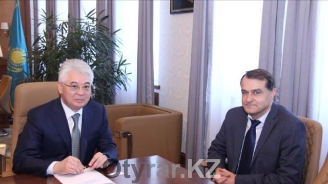 Аким Южно-Казахстанской области принял генконсула Франции