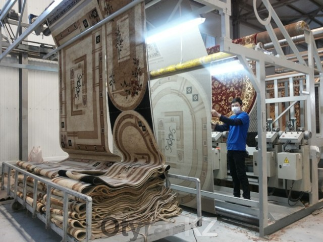 Ковровая фабрика в ЮКО запустила производство полипропиленовых нитей