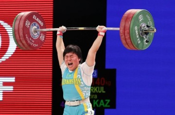 Жазира Жаппаркуль завоевала «серебро» чемпионата мира в Хьюстоне