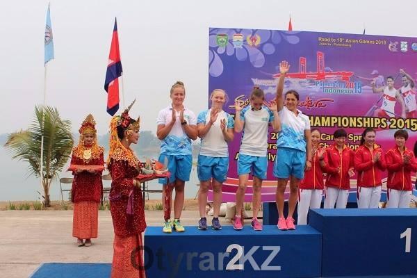 Гребцы ЮКО завоевали пять золотых медалей на чемпионате Азии