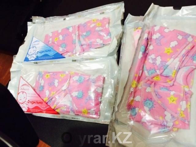 В ЮКО начался выпуск стерильной детской одежды