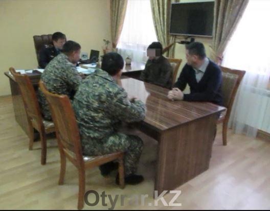 В Шымкенте задержан солдат самовольно покинувший воинскую часть