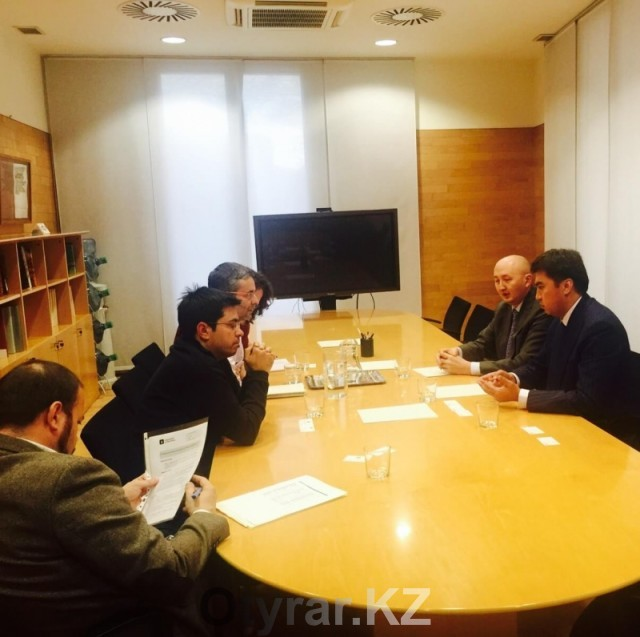 Шымкент и Барселона договорились о сотрудничестве