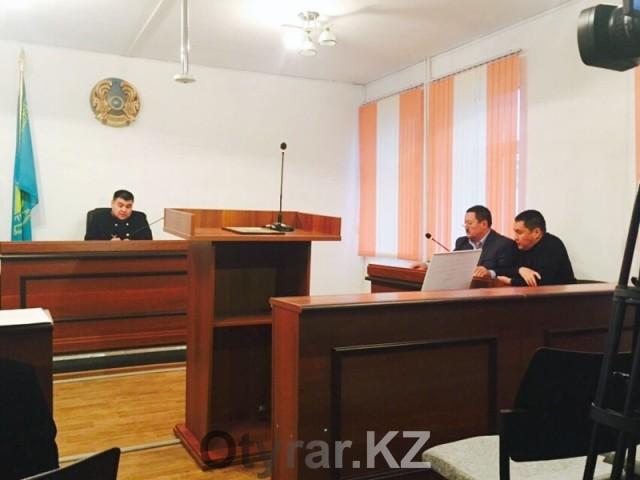 Экс-капитан полиции Сакен Курамысов требует присутствия на суде начальника ДВД ЮКО