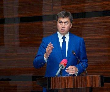 Габидулла Абдрахимов, аким города Шымкент.
