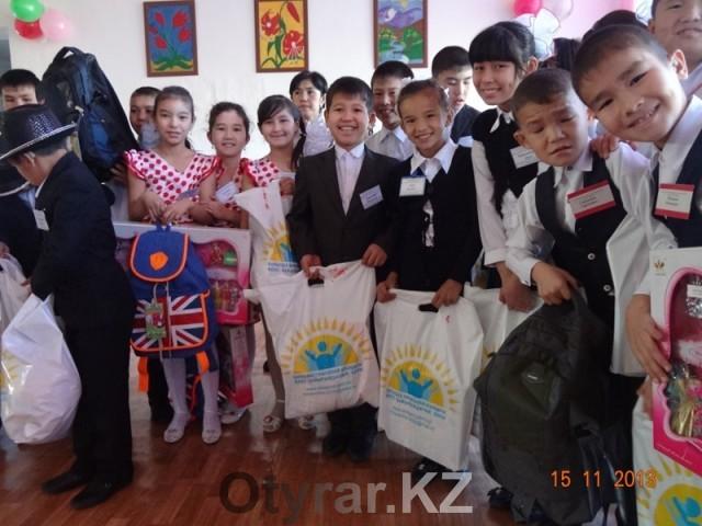 Фонд имени Турисбекова: семь лет добра во благо