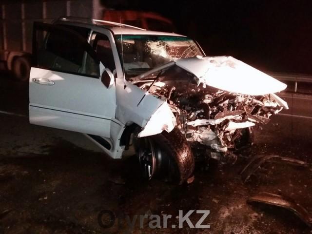 В ЮКО в результате ДТП погибли четверо и пострадали 5 человек