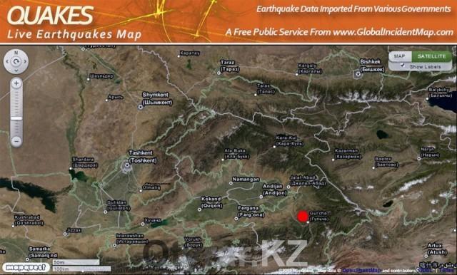 Землетрясение в Шымкенте 17 ноября 2015 года