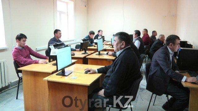 Центр тестирования госслужащих в Шымкенте переехал
