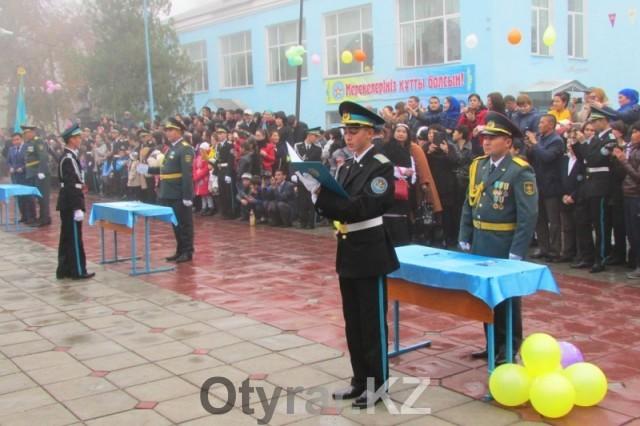 Впервые воспитанники военной школы дали клятву после перехода в ведение Министерства обороны