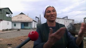 Татьяна Алимкулова, жительница села Монтайтас