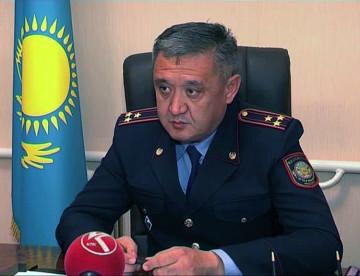 Нурлан Исабеков, начальник ОВД Арысского района