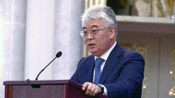 Бейбут Атамкулов, аким Южно-Казахстанской области.