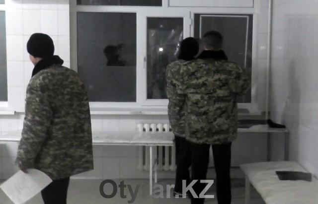 В военной школе имени Сабыра Рахимова произошла массовая драка