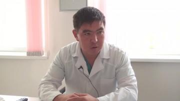 Аскар Оспаналиев, врач-реаниматолог БСМП