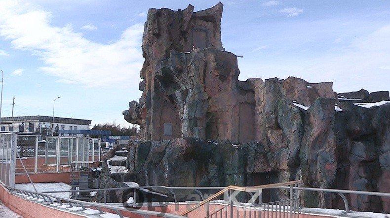 """Новый для шымкентского зоопарка объект """"Гора"""" признали непригодным к эксплуатации"""