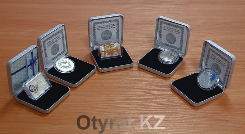 Национальный банк Казахстана в преддверии нового года выпустил четыре памятные коллекционные монеты