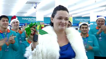 """Второй автомобиль от компании """"Эврика"""" выиграла жительница Шымкента"""