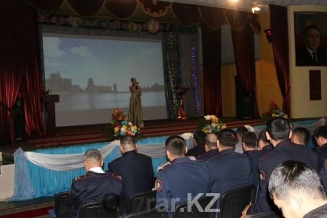 Полицейские отметили главный праздник - День Независимости