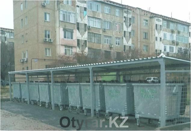 В Шымкенте установлено более 100 новых контейнеров