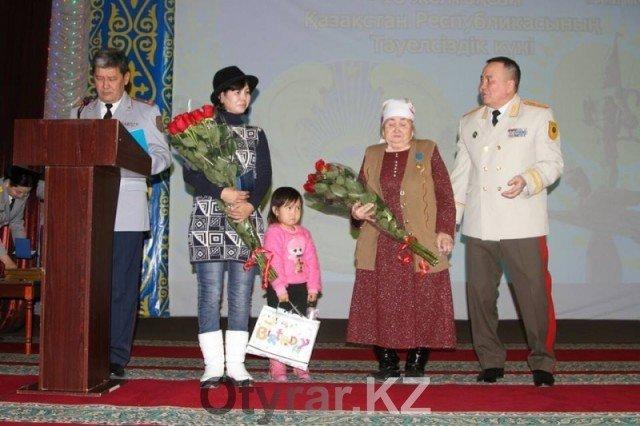 Награждена семья отважного героя, спасшего четырёх женшин