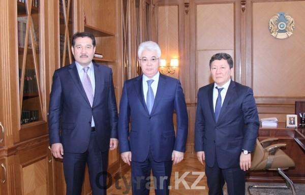 ЮКО посетил председатель Комитета по защите прав потребителей МНЭ РК