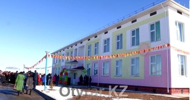 Ко дню независимости в Толебийском районе открыли два детских сада