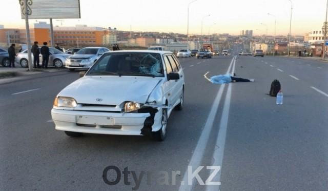 Смертельный наезд на пешехода в Шымкенте