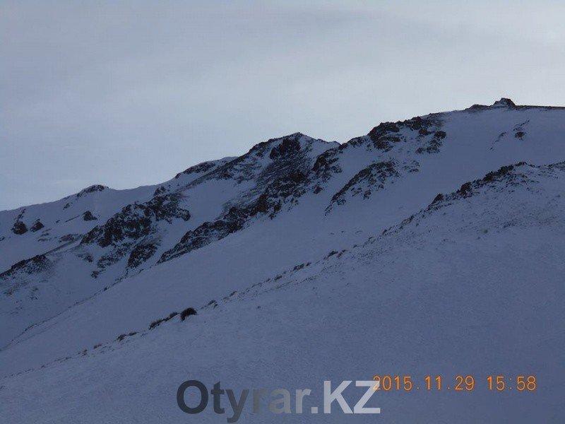 Снег в горах ЮКО