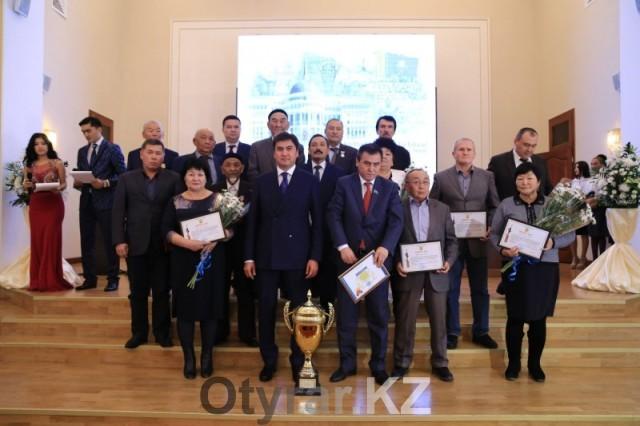 Торжественное мероприятие посвященное дню Первого Президента прошло в акимате Шымкента