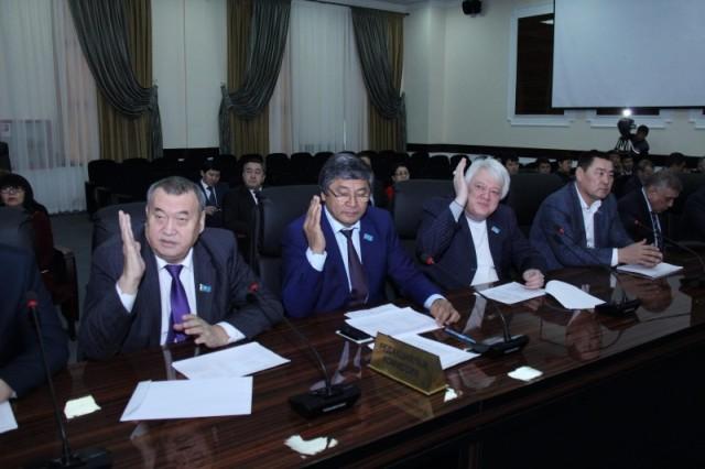Депутаты областного маслихата утвердили бюджет ЮКО на 3 года