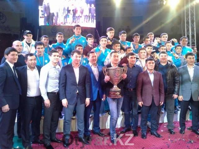 Команда ЮКО стала победителем Кубка Казахстанской федерации бокса