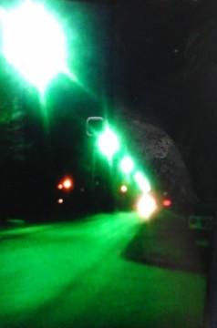 А это наша улица с освещением, которому мы так радовались!
