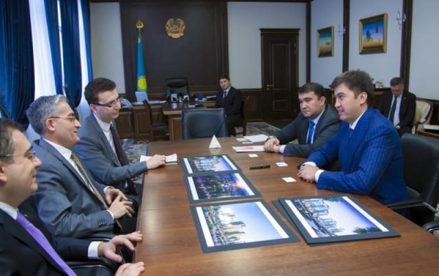 Габидулла Абдрахимов встретился с чрезвычайным послом и полномочным представителем Турции Невзат Уяныком
