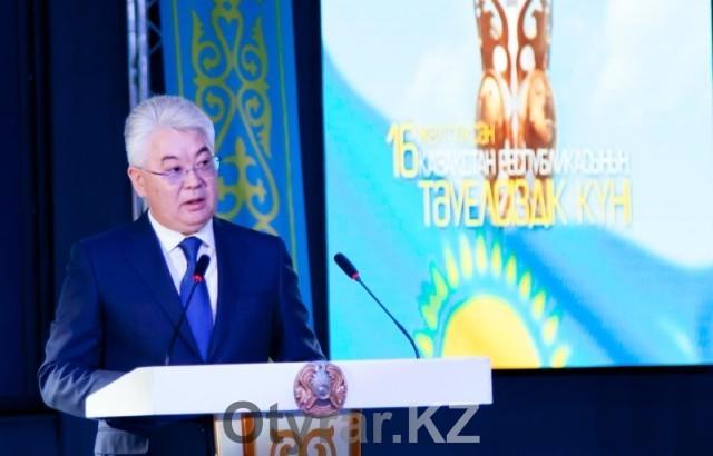 Аким ЮКО Бейбут Атамкулов поздравил южноказахстанцев с Днем Независимости