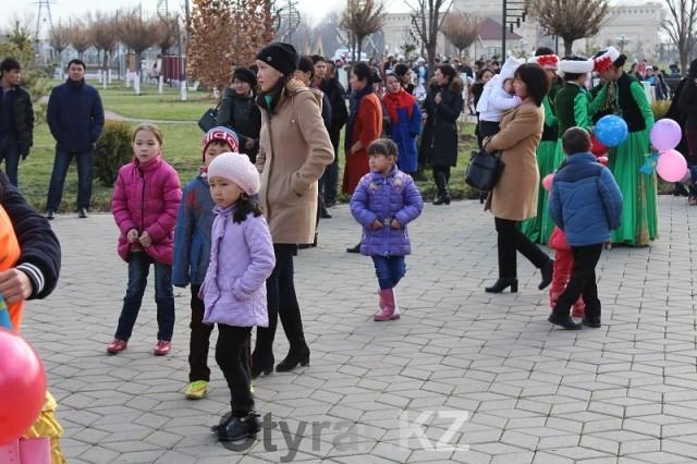 Шымкентцы с размахом отметили День Первого Президента