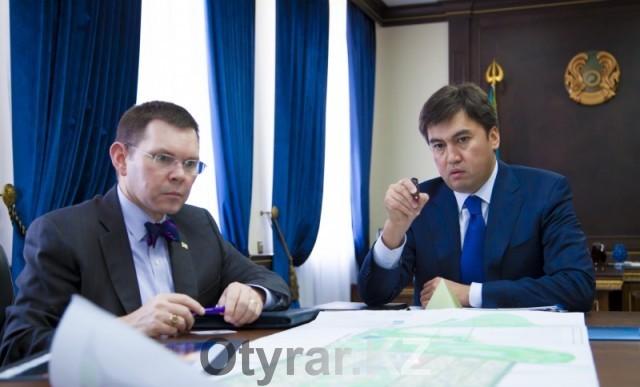 Американские дипломаты заинтересовались проектом будущего Shymkent city