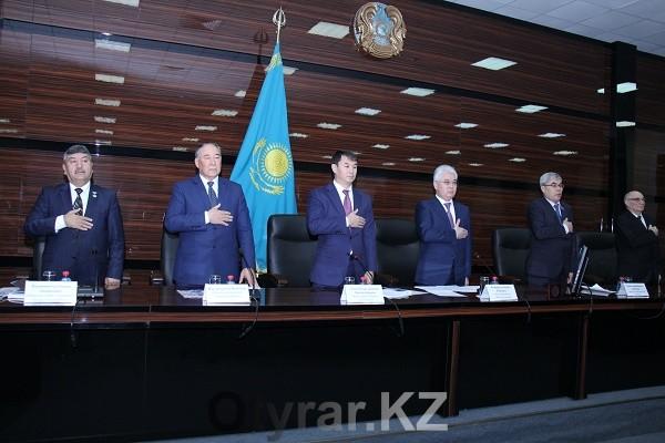 Аким ЮКО провел встречу с областным активом по разъяснению Послания Президента