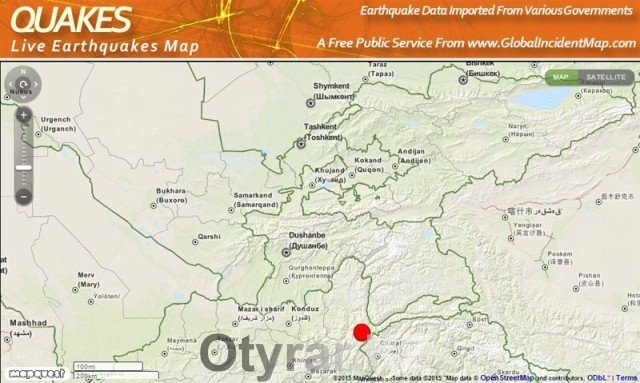 Ночное землетрясение встревожило шымкентцев