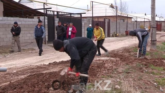 Жалобы жителей мкр. Кайтпас на работу отдела ЖКХ продолжают поступать