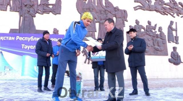 В Шымкенте прошел марафон ко Дню Независимости РК