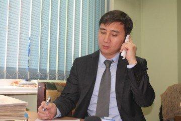 Заместитель директора по сбыту газа ТОО «Омега-XXI» Ербол Рахимбердиев