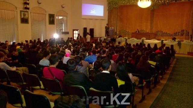 1000 будущих волонтеров ЭКСПО-2017 собрались на семинаре в Шымкенте