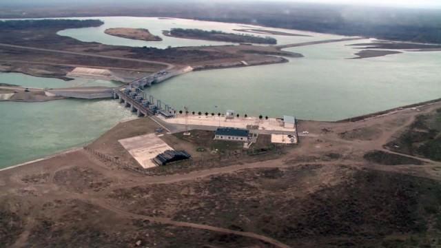 Вице-министр МВД РК проверил состояние водохранилищ ЮКО. Коксарайское водохранилище