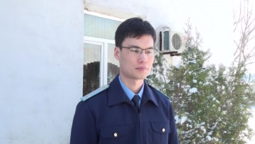 Нурсултан Талипов, прокурор Каратауского района.